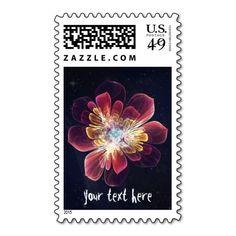 Tibet Sea Flower   Custom Postage Stamp