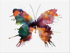 Hey, I found this really awesome Etsy listing at https://www.etsy.com/listing/173808324/butterfly-archival-watercolor-art-print