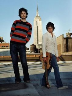 Bret McKenzie and Jemaine Clement