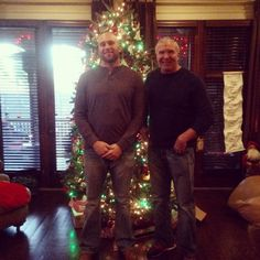 WWE Hall of Fame legend Scott Hall with his son professional wrestler Cody Hall (31 Jun 1991) spending time together during the Christmas holidays. Scott and Cody were estranged for many years due to Scott's substance abuse. But with the older Hall's sobriety, the father and son have reconnected. Cody credits his father helping him train and getting a foothold in the business. #WWE #WWEHOF #wwefamilies #father #dad #sons #boys #children #kids #family #wrestling #wrestler #December #2014 Happy Holidays, Christmas Holidays, Kevin Nash, December 2014, Sobriety, Father And Son, Jun, Christmas Sweaters