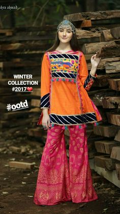 Simple Dresses, Pretty Dresses, Beautiful Dresses, Casual Dresses, Fashion Dresses, Pakistani Frocks, Pakistani Dress Design, Pakistani Outfits, Afghan Dresses