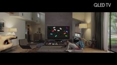 AbanCommercials: Samsung TV Commercial  • Samsung advertsiment  • Experience QLED TV: TV on Demand with Smart Hub from QLED • Samsung Experience QLED TV: TV on Demand with Smart Hub from QLED TV commercial • QLED TVs know what you want to watch and when thanks to their innovative Smart Hub. Experience the next innovation from Samsung making the shows you love easier to access than ever before and that brings more personalised entertainment suggestions to you.rience QLED TV: TV on Demand…