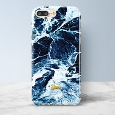 SURF   iPhone Marble Case Available for iPhone 7/7 Plus, iPhone 6/6s, 6/6s plus. Free shipping worldwide. #blue #case #marble #palettoshop (Apple Tech Life)