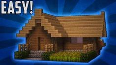 Minecraft: How To Build A Small Survival Starter House Tutorial (#2)
