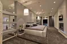 Hurtado Residence. Double King beds in the Master Bedroom.