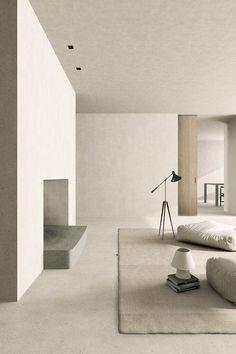 37 Best Minimalist Home Interior Design Ideas With Beautiful Colors Minimalist Home Interior, Home Interior Design, Interior Styling, Interior Architecture, Minimalist Architecture, Minimalist House, Interior Colors, Interior Modern, Living Room Designs