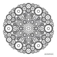 Mandala drawing 37 by Mandala-Jim on DeviantArt