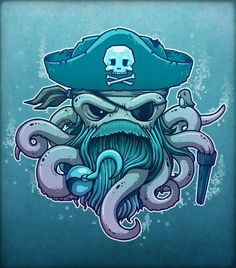 The Legendary Arrrctopus Art Print