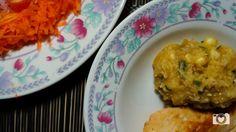 Salada e frango grelhado.  Edição: Ligthroom