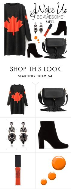 """""""Zaful 30"""" by merima-kopic ❤ liked on Polyvore featuring Yves Saint Laurent, Maybelline, Topshop, WALL, vintage and zaful"""
