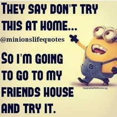 Funny Quotes With Pictures & Sayings Minions Quotes Top 370 Funny Quotes With Pictures Sayings vs. Minions is a cooperative board game created by Riot The game was released on October Funny Minion Pictures, Funny Minion Memes, Minions Quotes, Funny Texts, Funny Jokes, Minions Minions, Funny Fails, Minion Sayings, Minion Humor