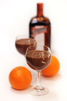 Orange Chocolate Mousse from Emily Loves Food. Only 4 ingredients.