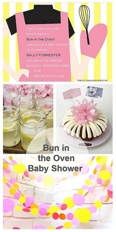 Bun in the Oven Baby Shower Idea on the @FineStationery Blog