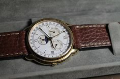 Hamilton Moon Phase Gold Plated Vintage