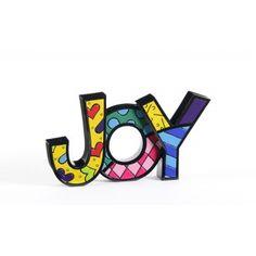 Romero Britto Words Joy