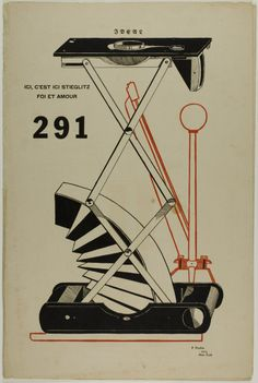 Francis Picabia, 291, 1915. Letterpress and offset lithography on ivory wove paper  |  The Art Institute of Chicago
