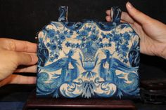 Vintage Chinese embroidery silk purse by godblessmyson on Etsy