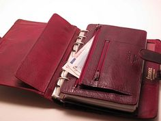 For The Love of Filofax Leather Books, Leather Gifts, Leather Craft, Scuba Travel, Notebook Case, Handmade Books, Leather Keychain, Book Making, Leather Accessories