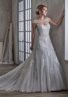 1 Wedding by Mary's Bridal 6593 A-Line Wedding Dress