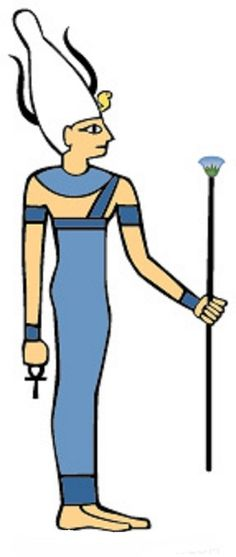 Satet - (also spelt Satis, Satjit, Sates, and Sati) was the deification of the floods of the Nile River. Her cult originated in the ancient city of Swenet, now called Aswan on the southern edge of Egypt. Her name means she who shoots forth referring to the annual flooding of the river. She was an early war, hunting, and fertility deity who was seen as the mother of the Nile River, Anuket, and a protector of southern Egypt.