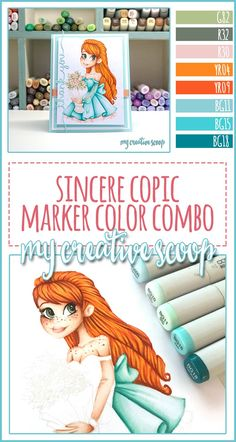Sincere Copic Marker Color Combo