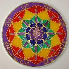 mandala art Balance Mandala Chakra art yoga by HeavenOnEarthSilks, $34.00
