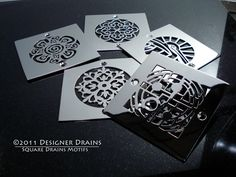 Designer Drains - Square Drains - contemporary - showers - los angeles - Designer Drains