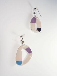 E-06 Bleecker Ceramic jewelry by OVOceramics on Etsy