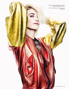 Delfine Bafort by Marc de Groot for Vogue Netherland