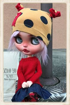 For personal reasons, I have to separate myself from the Amazing ♥XIAO YO♥.  Note that I separate myself from most of my collection of collectible dolls…  She was created on August 2016 by ♥MZZ♥, an Amazing Artist...  She'll travel well protected in a wonderful cute box surprise.  Shipments Worlwide: Via Registered mail (priority shipping) with tracking number. Please feel free to ask any questions!  Dont hesitate to contact me if you have any questions.  Thank you ♥