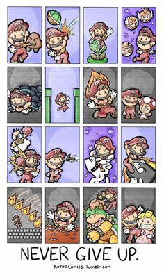 Mario Teaches Life Lessons