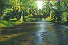 Landscape Paintings, River, Outdoor, Outdoors, Landscape, Outdoor Games, Outdoor Life, Landscape Drawings, Rivers