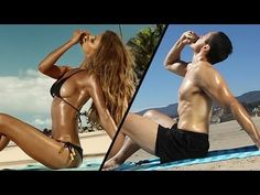 The gender role-reversal in this video shows how ridiculous it would look if men were sexualised in the same way women are in a lot of ads nowadays. Gender Stereotypes, Gender Roles, Gender Inequality, John Oliver, Jon Stewart, Stephen Colbert, Satire, Make My Day, Gender Studies