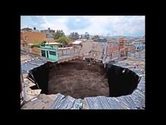 SINK HOLES SWALLOWING UP THE EARTH ALL OVER THE WORLD