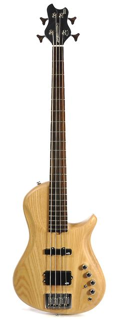 BRUBAKER Brute Four-String Single-Cutaway Natural | Reverb