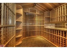 Wine Cellar Beverly Hills; if I had this in my house it would perpetually be empty because I would immediately drink all of the wine.