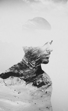 Double Exposure by Julian Vassallo    USE RED