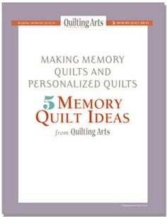 memory quilts - Google Search