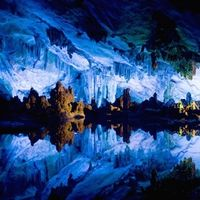 Reed Flute Cave, Guilin, Guangxi, China - Beautiful Places to Visit Beautiful Places In The World, Places Around The World, Oh The Places You'll Go, Places To Travel, Places To Visit, Around The Worlds, Amazing Places, Travel Destinations, Guilin