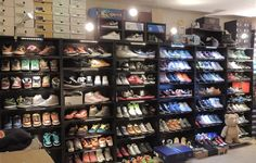 great way to use BILLY bookcase for shoe display. Check out jasonbellofficial's Other on IKEA Share Space.