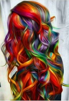 Beliebt Frisuren 50 Stunningly Styled Unicorn Hair Coloration Concepts To Stand Out From The Crowd # Unicorn Hair Color, Pelo Multicolor, Coloured Hair, Bright Colored Hair, Dream Hair, Cool Hair Color, Cool Hair Dyed, Amazing Hair Color, Kids Hair Color