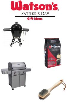 Looking for the perfect Father's Day gift? Our grill selection is unbeatable. Saber, Weber and Primo are in stock and ready for your dad.