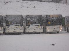 C'est l'hiver et les chutes de neige sont au rendez-vous dans la vallée de Serre Chevalier - Ici le dépôt #Resalp