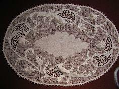 Italian version of Irish Crochet made in Orvieto