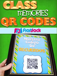 Make a QR code that students can scan and open up your classroom videos and photos for them to watch and enjoy even when they leave your classroom! Also could be used for content videos.