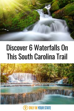 This one easy hiking trail in South Carolina offers 6 beautiful waterfalls. The hike is beginner-friendly and comes in at under 3 miles. It's great for families, photographers, and anyone who loves nature. Best Bucket List, Us Destinations, Hidden Beach, Stay Wild, Beautiful Waterfalls, Natural Wonders, Hiking Trails, Us Travel, South Carolina