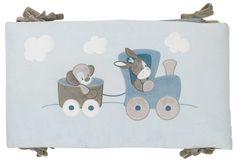 Maak van het babybed een gezellig nestje voor je kleine schat dankzij deze zachte Gaston & Cyril-bedomranding van Nattou.