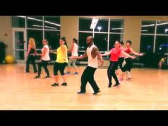 La Gozadera Gente De Zona ft Marc Anthony zumba - YouTube