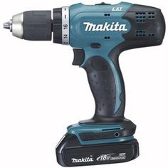 "18V 1/2"" Cordless Driver Drill with 2 batteries and charger - Makita DDF453H  $225.00 CAD"