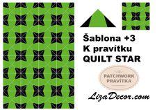 #patchwork #quiltstar #patchworkovévzory #pravítka #šablony